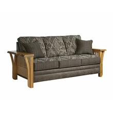 Rustic Edge Sofa