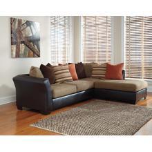 Armant Mocha Chaise Sofa