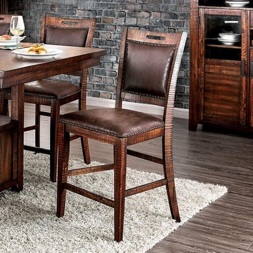 Furniture of America - Wichita Counter Ht. Chair
