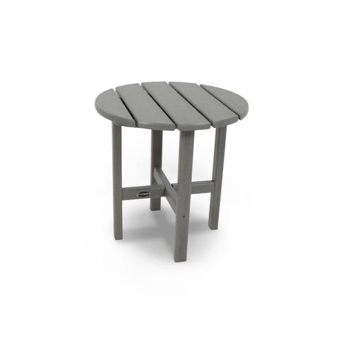 """Navy Round 18"""" Side Table"""