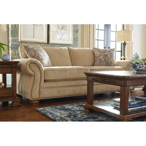 Pembroke Sofa w/ Brass Nail Head Trim
