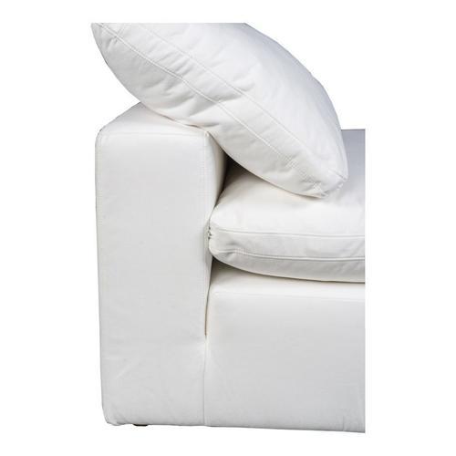 Moe's Home Collection - Terra Condo Slipper Chair Livesmart Fabric Cream