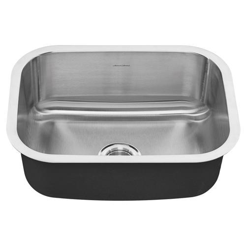 American Standard - Portsmouth Undermount 23x18 Single Bowl Kitchen Sink  American Standard - Stainless Steel