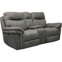 See Details - MASON - CARBON Power Console Loveseat