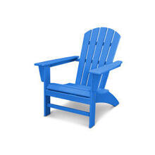 View Product - Nautical Adirondack Chair in Vintage Pacific Blue