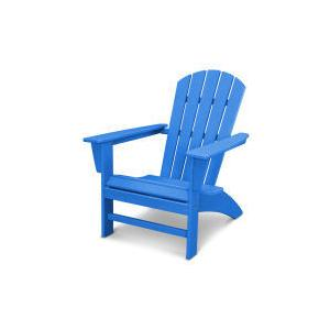 Polywood Furnishings - Nautical Adirondack Chair in Vintage Pacific Blue