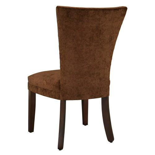 7257 Jeanette Dining Chair with Nailheads & Caster Front Legs
