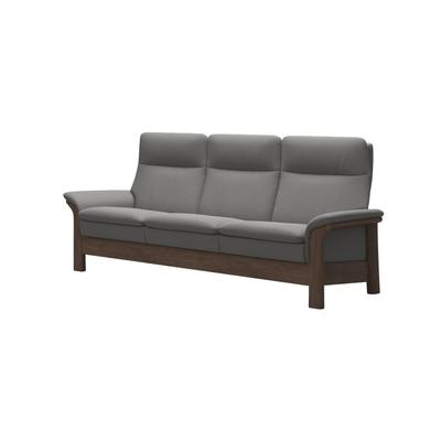 See Details - Stressless® Saga with wood (L) 3 seater High