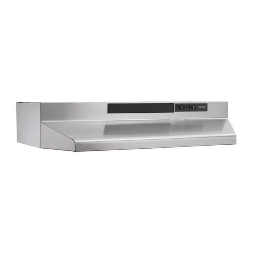 "42"" Convertible Range Hood, Stainless Steel"