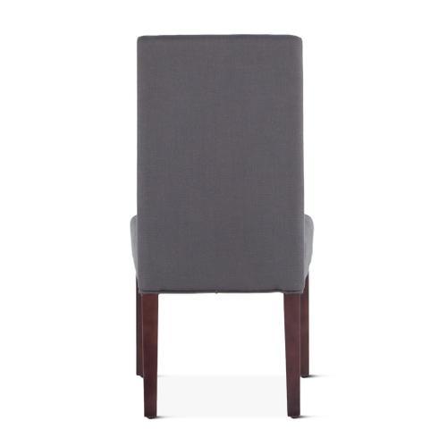 Jones Dining Chair Gray with Dark Legs
