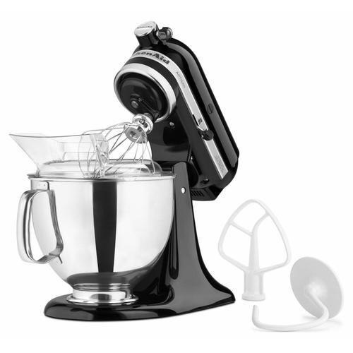 KitchenAid - Artisan® Series 5 Quart Tilt-Head Stand Mixer - Onyx Black