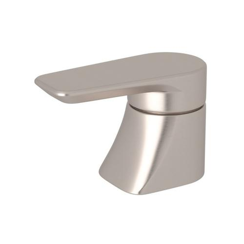 Satin Nickel Perrin & Rowe Hoxton Trim For Volume Controls And Diverters with Hoxton Metal Lever