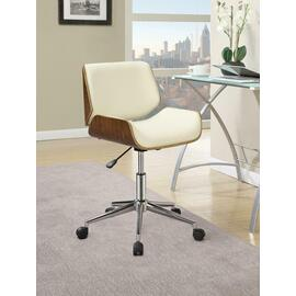See Details - Modern Ecru Office Chair