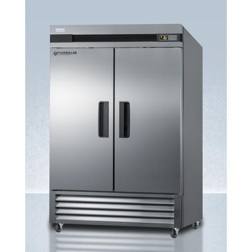 Summit - 49 CU.FT. Upright Pharmacy Refrigerator