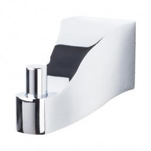 Aqua Bath Single Hook - Polished Chrome