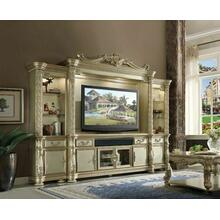 ACME Vendome II Entertainment Center - 91310 - Gold Patina & Bone