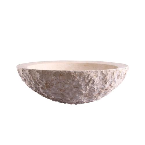 Azore Round Marble Above Counter Basin
