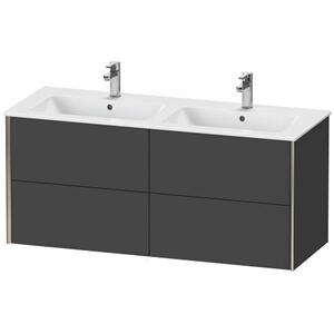 Duravit - Vanity Unit Wall-mounted, Graphite Matte (decor)