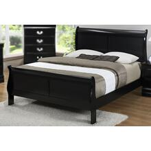 LP Black Queen Bed