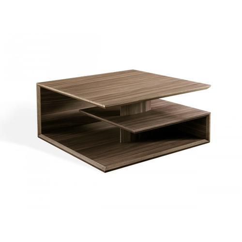 VIG Furniture - Modrest Raelynn - Modern Walnut Coffee Table