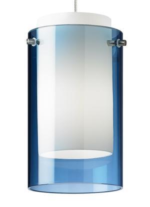 Steel Blue Mini Echo Pendant Product Image