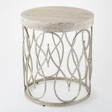 See Details - Moroccan Side Table