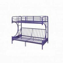 ACME Eclipse Twin/Full/Futon Bunk Bed - 02081PU - Purple