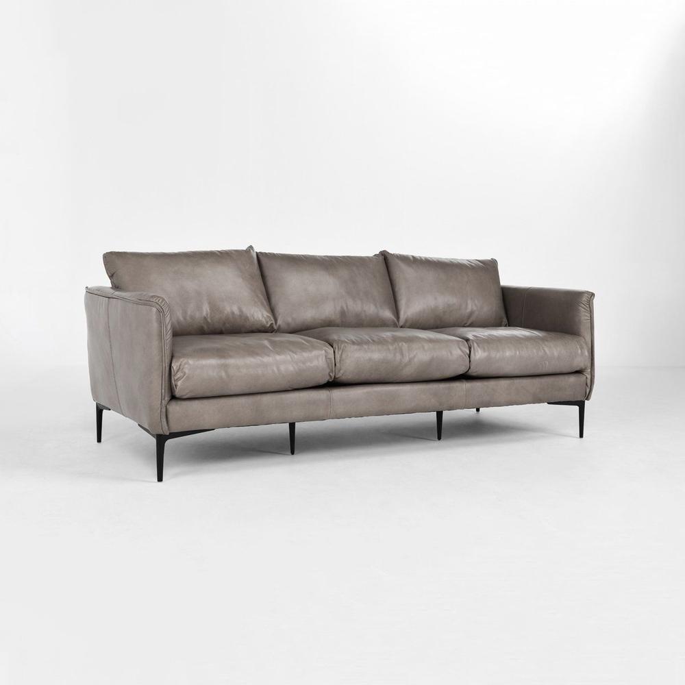 See Details - Abigail 85\u0022 Sofa Dark Gray