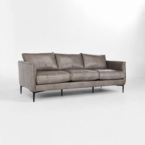 Classic Home - Abigail 85\u0022 Sofa Dark Grey