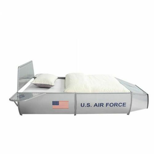 ACME Aeronautic Twin Bed - 36100T - Silver