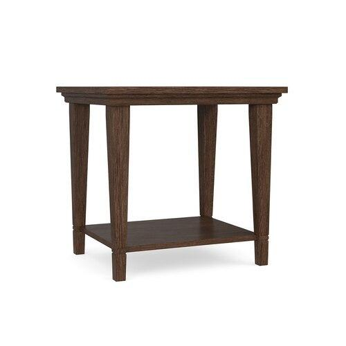 Lewiston Wood Top End Table