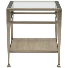 Santa Barbara Metal End Table in Sandstone (385)