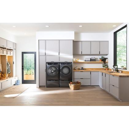 See Details - Front Load Perfect Steam™ Electric Dryer with Predictive Dry™ and Instant Refresh - 8.0 Cu. Ft.