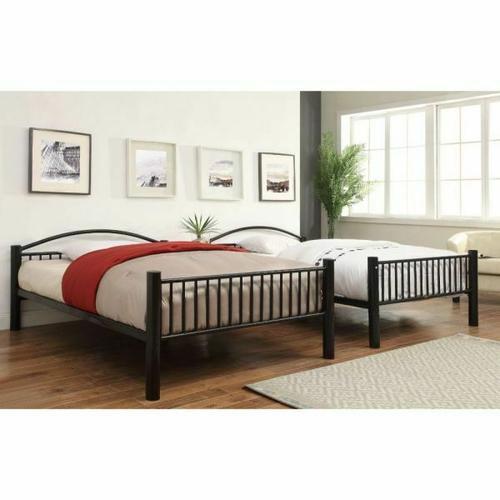 ACME Cayelynn Full/Full Bunk Bed - 37390BK - Black
