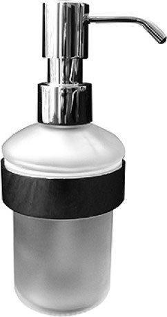 Chrome D-code Soap Dispenser Product Image