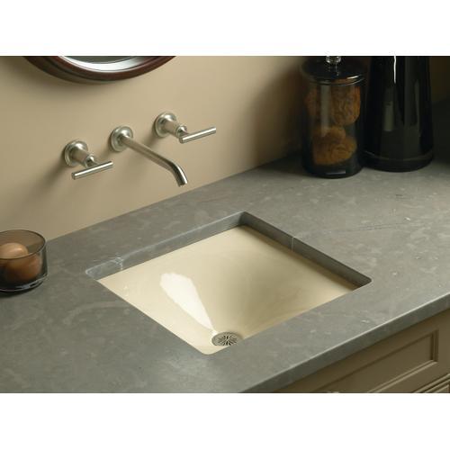 "Sea Salt 16-3/8"" X 15-5/8"" X 5-3/4"" Drop-in/undermount Bathroom Sink"