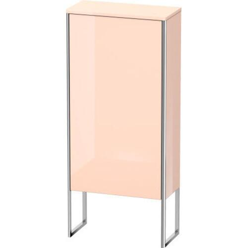 Semi-tall Cabinet Floorstanding, Apricot Pearl High Gloss (lacquer)