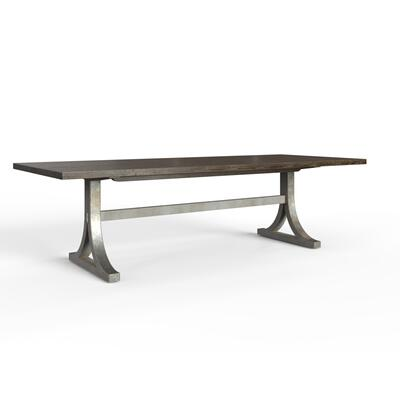 "Hillside 108"" Rectangular Dining Table - Feather"