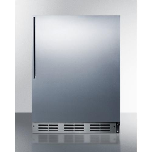 """Stainless Steel Kickplate for Use With Select 24"""" Wide Units"""