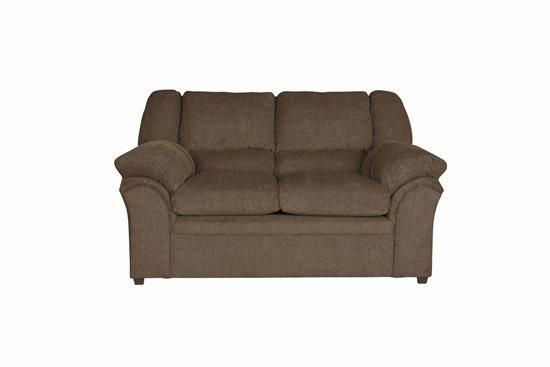 Loveseat - Shown in 116-13 Chocolate Chenille Finish