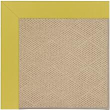 "Creative Concepts-Cane Wicker Canvas Lemon Grass - Rectangle - 24"" x 36"""