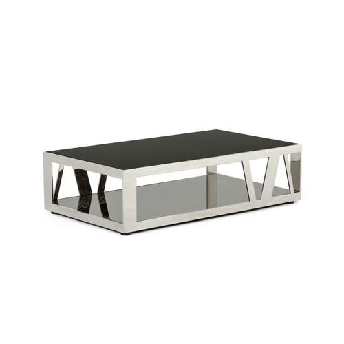 VIG Furniture - Modrest Sherman Modern Ebony Coffee Table