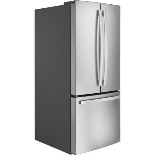 GE Appliances - GE® ENERGY STAR® 20.8 Cu. Ft. French-Door Refrigerator