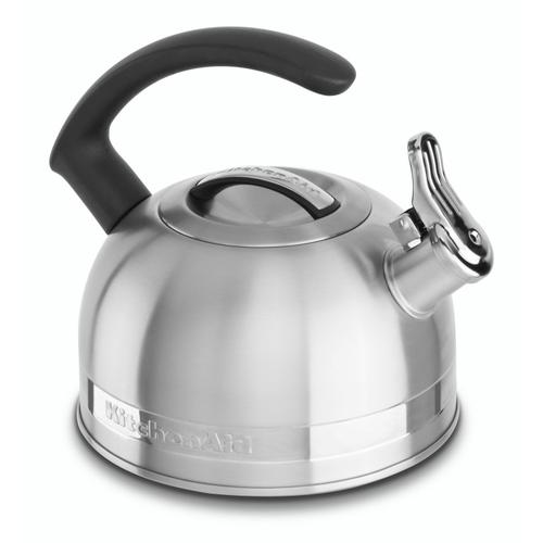 2.0-Quart Stove Top Kettle with C Handle Stainless Steel Finish