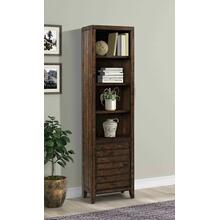 TEMPE - TOBACCO 22 in. Open Top Bookcase