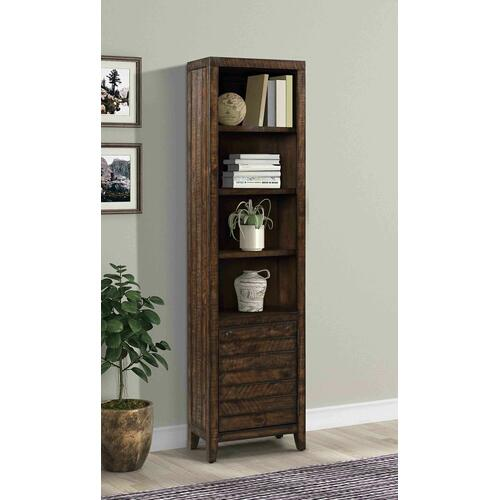Parker House - TEMPE - TOBACCO 22 in. Open Top Bookcase