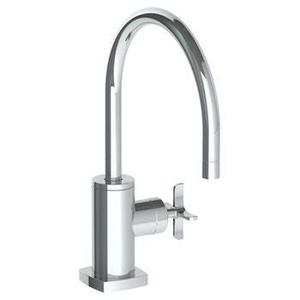 Deck Mounted 1 Hole Kitchen Faucet