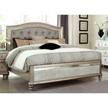 Bling Game Metallic Eastern King Bed