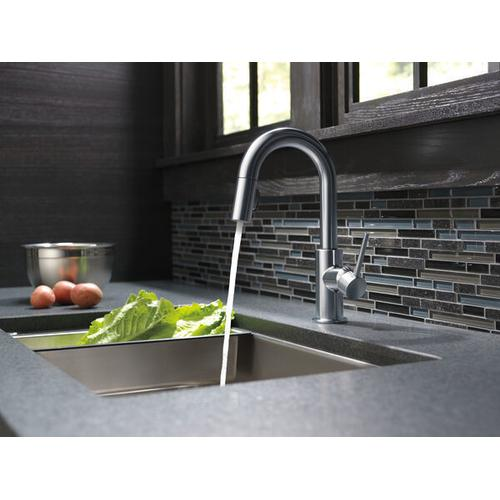Arctic Stainless Single Handle Pull-Down Bar/Prep Kitchen Limited Swivel
