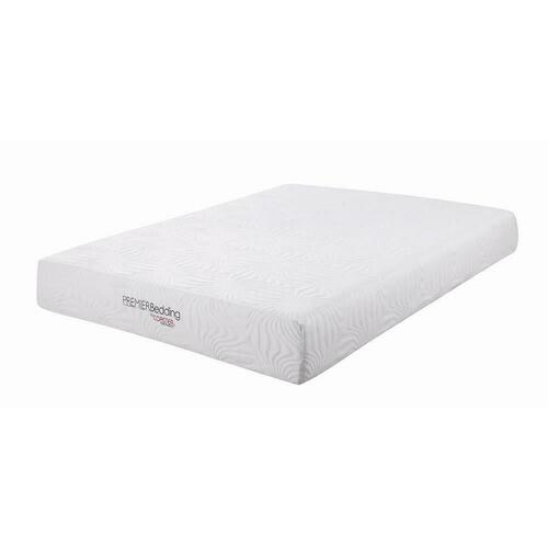 Key White 10-inch Queen Memory Foam Mattress
